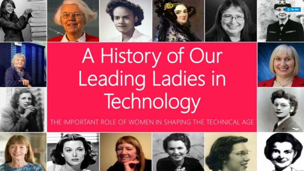 A History of Our Leading Ladies in Technology